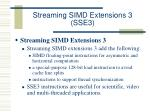 streaming simd extensions 3 sse337