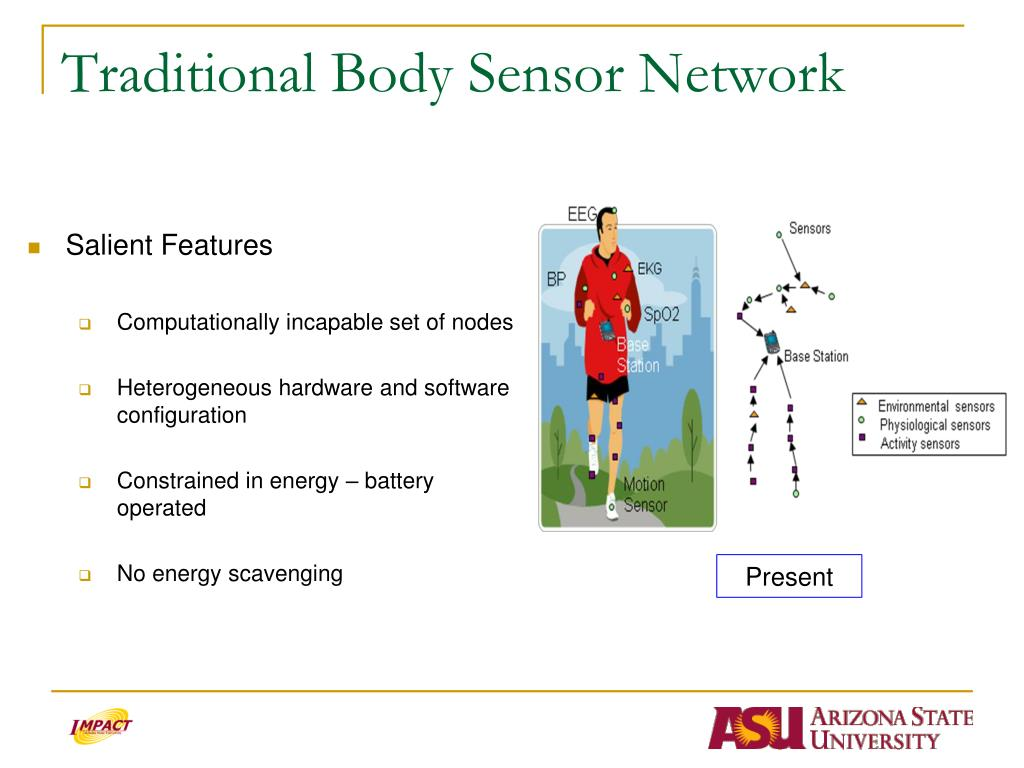 Traditional Body Sensor Network