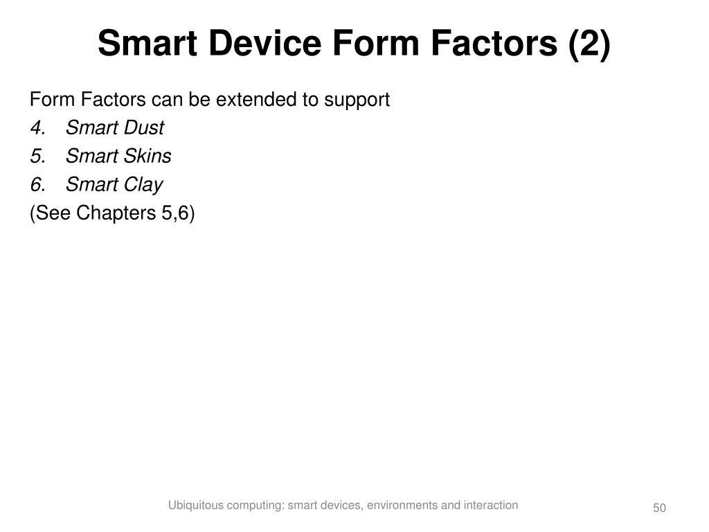 Smart Device Form Factors (2)