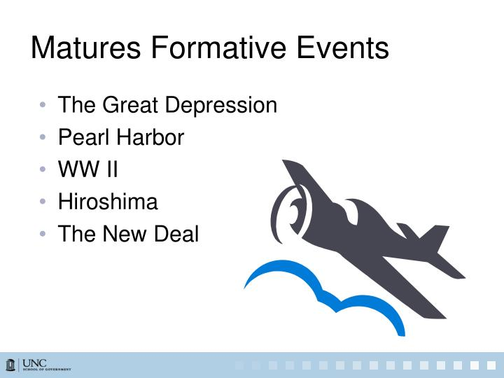 Matures Formative Events