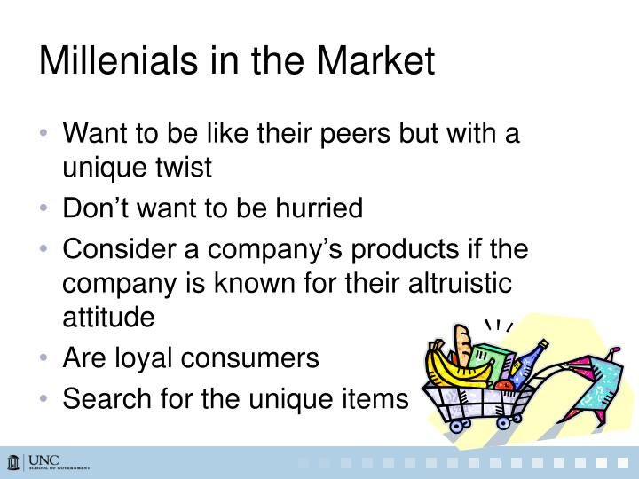 Millenials in the Market