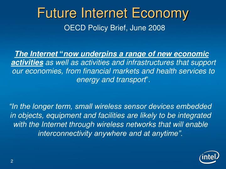 Future internet economy oecd policy brief june 2008