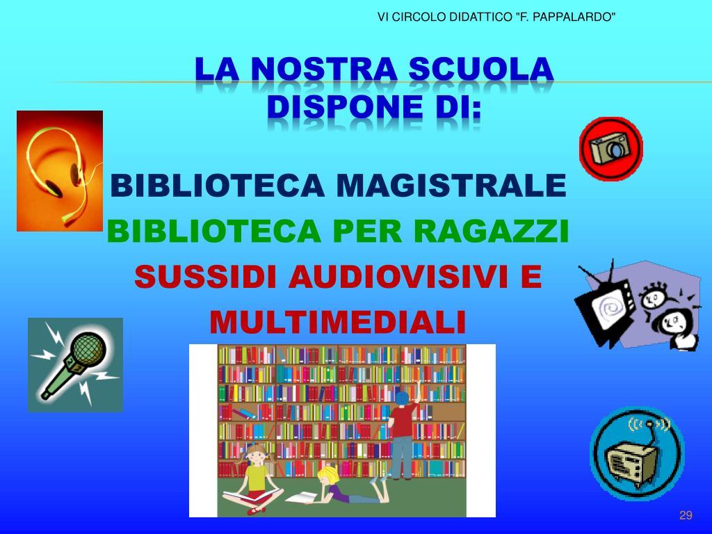 BIBLIOTECA MAGISTRALE