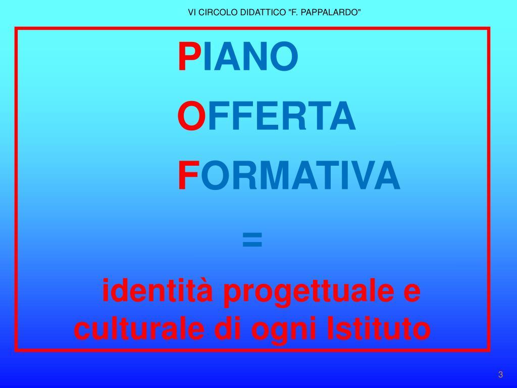 """VI CIRCOLO DIDATTICO """"F. PAPPALARDO"""""""