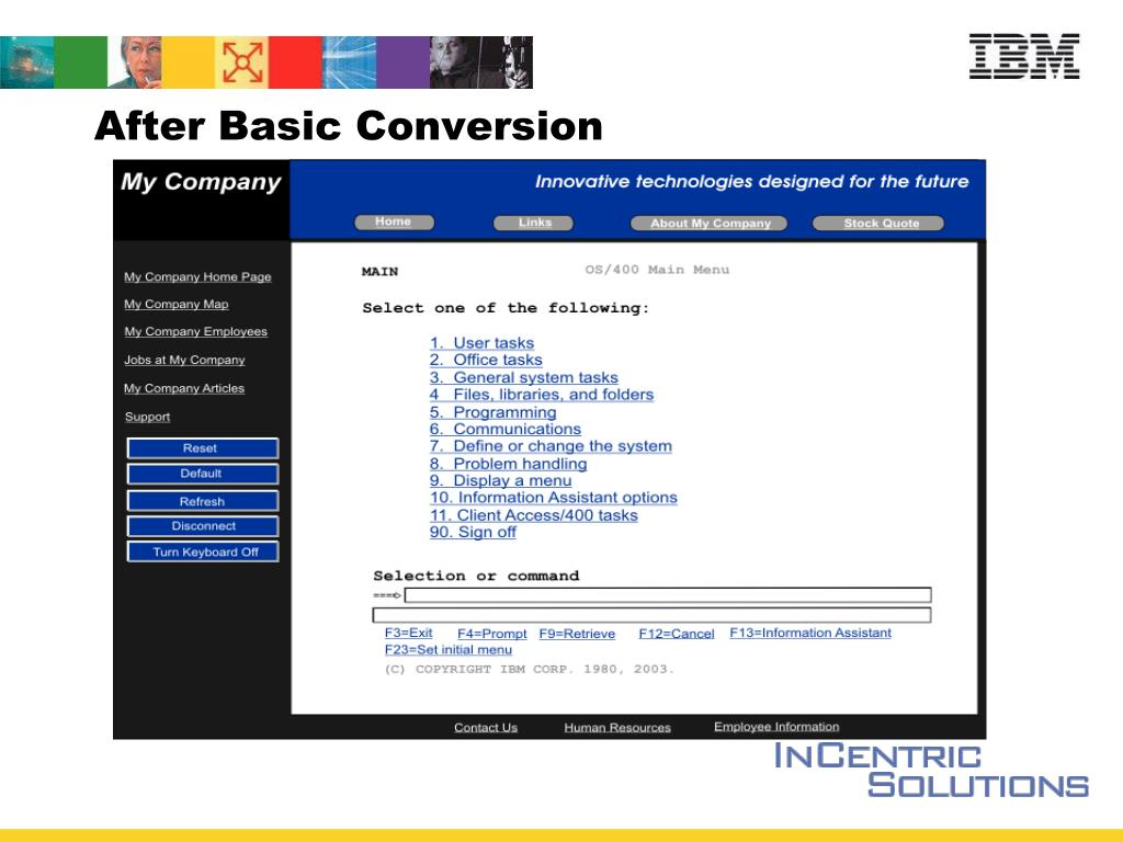 After Basic Conversion
