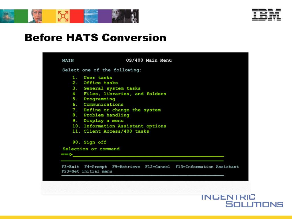 Before HATS Conversion