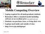 mobile computing overview