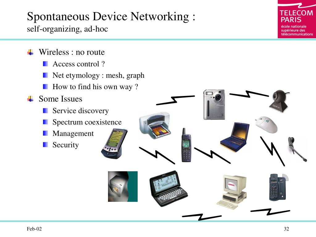 Spontaneous Device Networking :