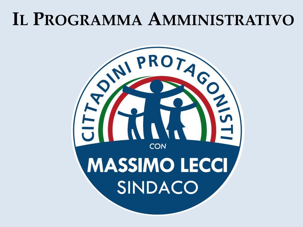 Il Programma Amministrativo