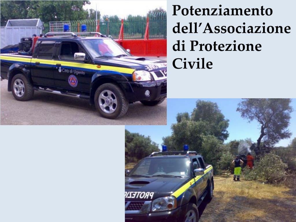 Potenziamento dell'Associazione di Protezione Civile