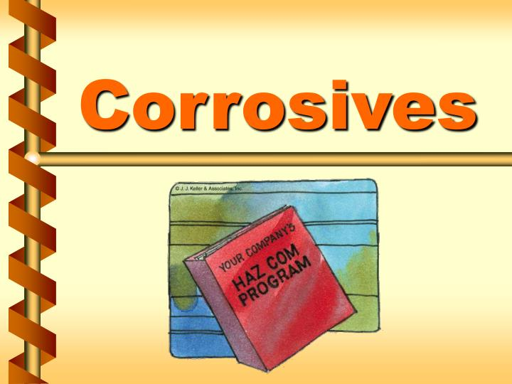 Ppt Corrosives Powerpoint Presentation Id 1207474