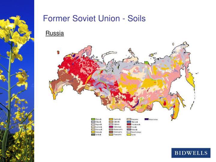 Former Soviet Union - Soils