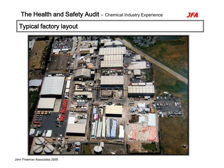 Typical factory layout