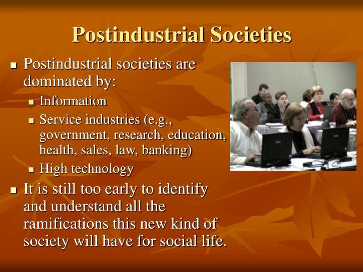 Postindustrial Societies
