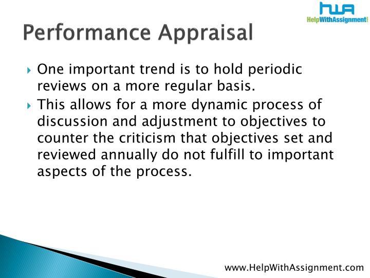 Performance appraisal3