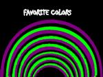 favorite colors