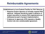 reimbursable agreements2
