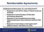 reimbursable agreements3