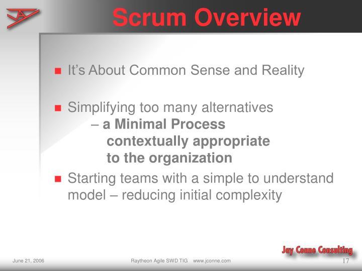 Scrum Overview