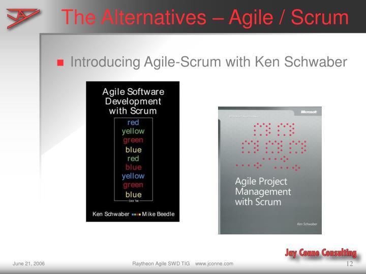 The Alternatives – Agile / Scrum
