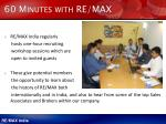 60 minutes with re max