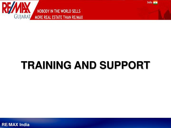 training and support n.