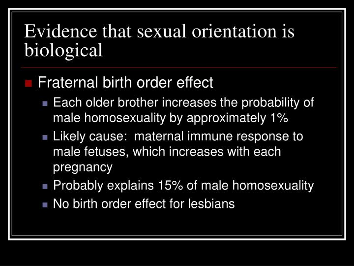 effects of sexual orientation essay Recent research has concluded that sexual orientation, in both men and women, may play a significant role in the feelings of dissatisfaction of one's physical appearance and the development and onset of disordered eating habits numerous studies have found that homosexual men have a higher.