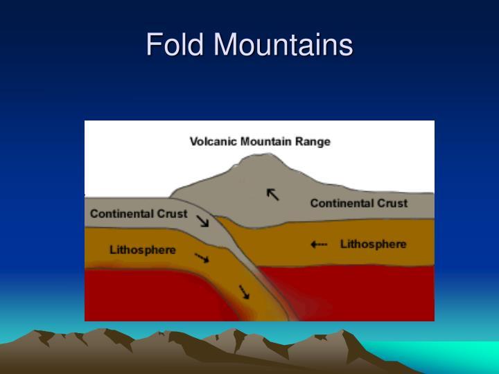 Ppt - Fold Mountains Powerpoint Presentation