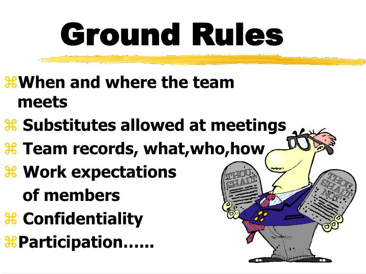 pttls ground rules Pttls 10 trainers establish ground rules with their learners my learners come from different backgrounds, cultures and beliefs which is a challenge for any trainer.