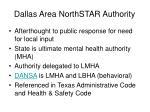 dallas area northstar authority
