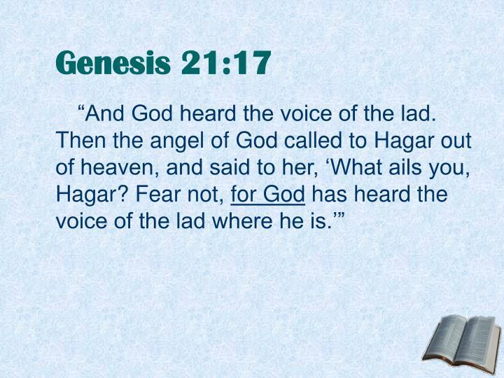 Genesis 21:17