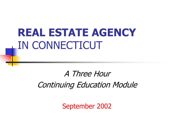 real estate agency in connecticut n.