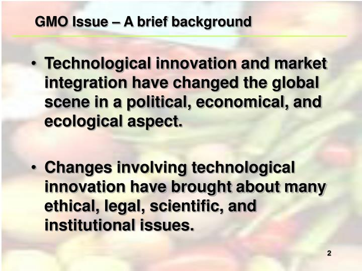 genetically modified organisms a step ahead or a step in the wrong direction Genetically modified organisms- a step ahead or a step in the wrong direction paulina langowska genetically modified organisms, also known as gmo, are such organisms whose genetic material has been artificially changed using genetic engineering.