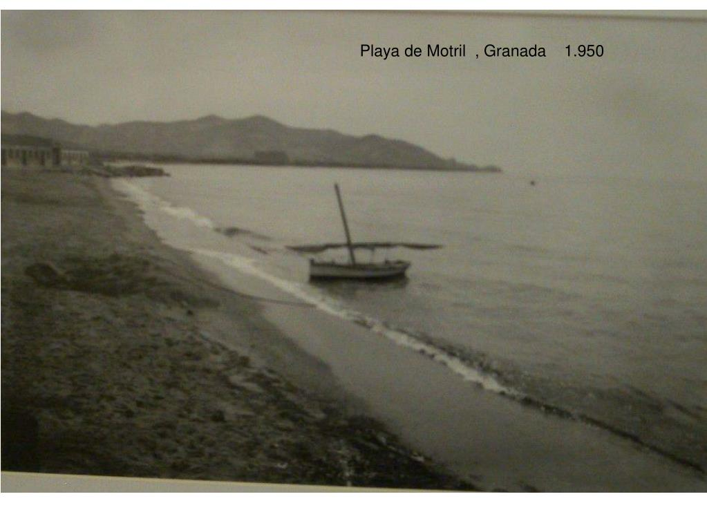 Playa de Motril  , Granada    1.950