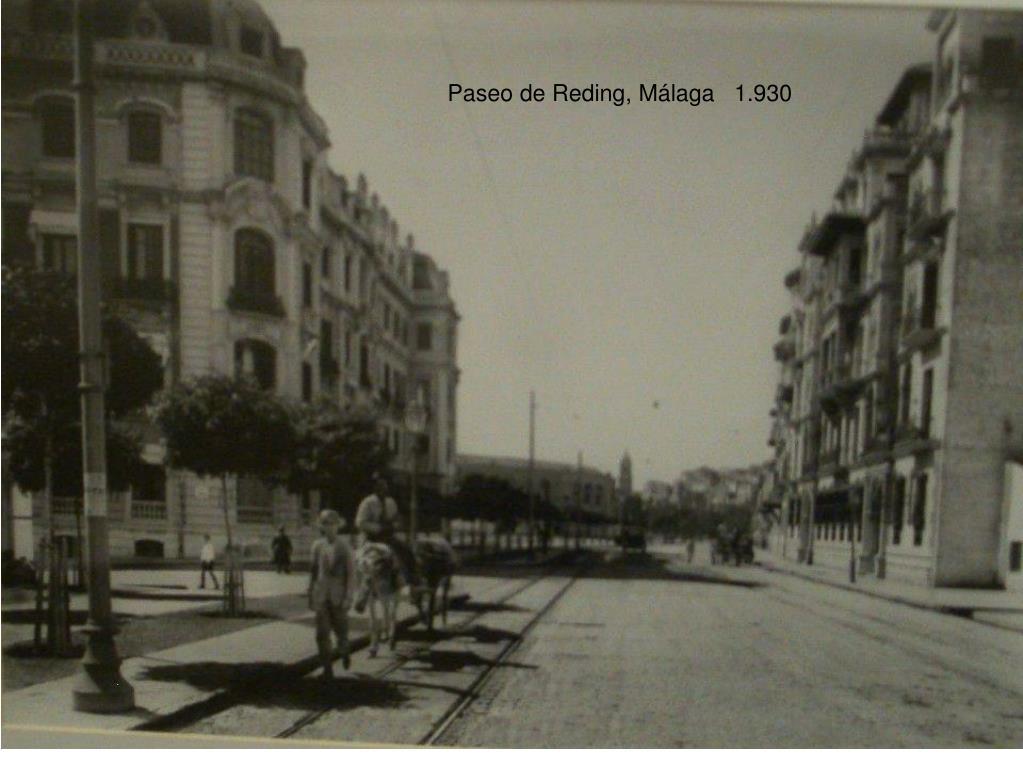Paseo de Reding, Málaga   1.930