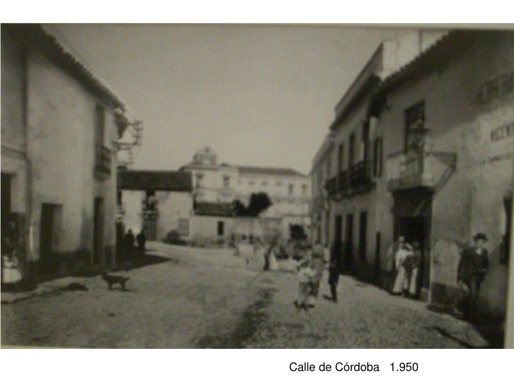Calle de Córdoba   1.950