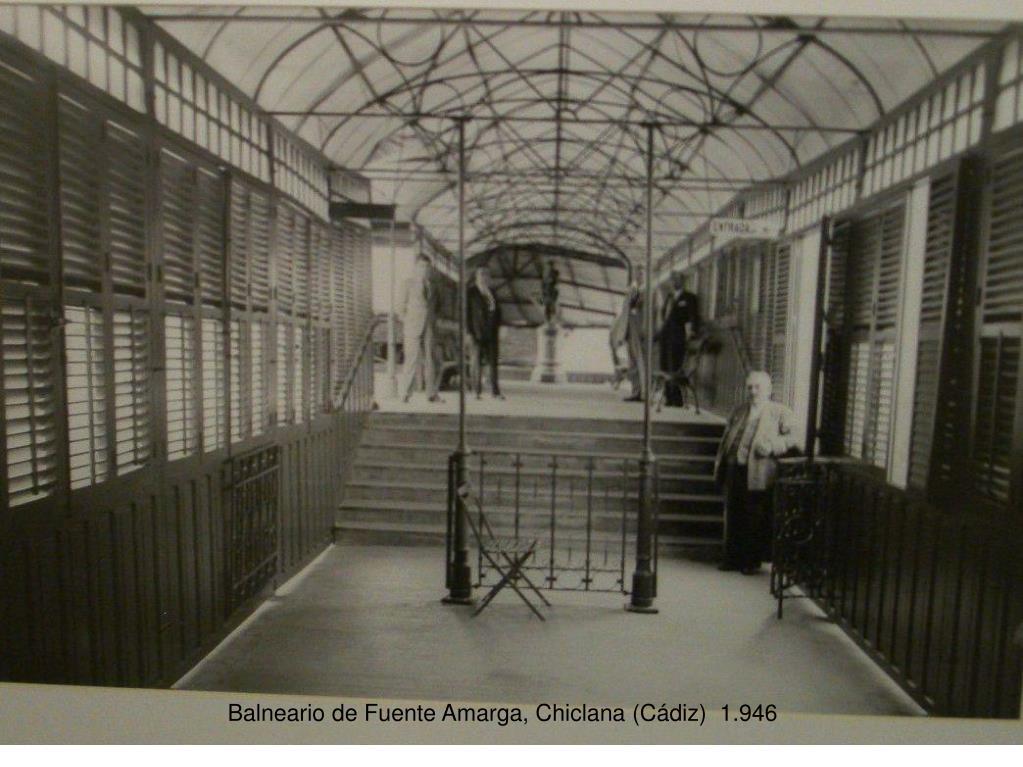 Balneario de Fuente Amarga, Chiclana (Cádiz)  1.946