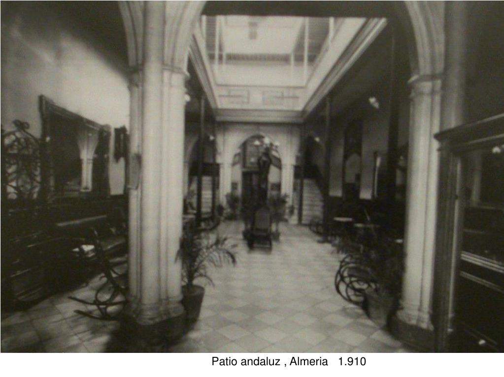 Patio andaluz , Almeria   1.910