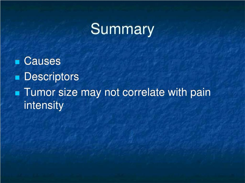 PPT - Cancer Pain Management 101 PowerPoint Presentation ...