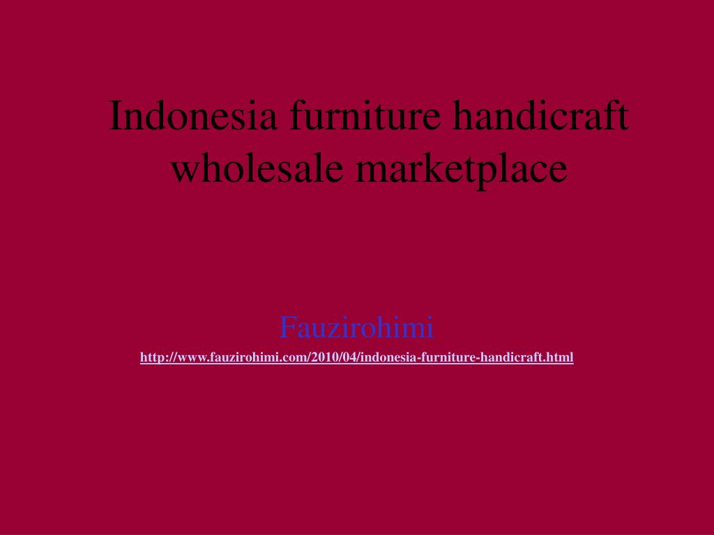 indonesia furniture handicraft wholesale marketplace l.