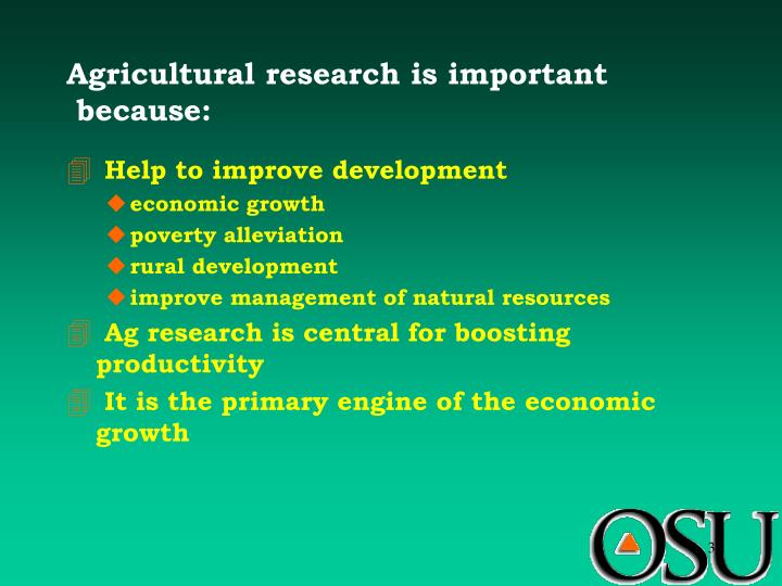economic growth and poverty alleviation