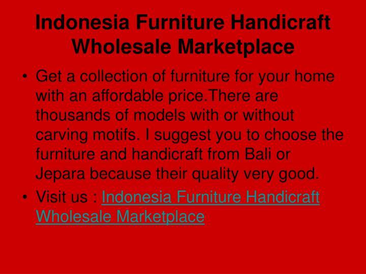 Indonesia furniture handicraft wholesale marketplace2