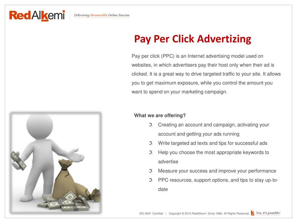 Pay Per Click Advertizing