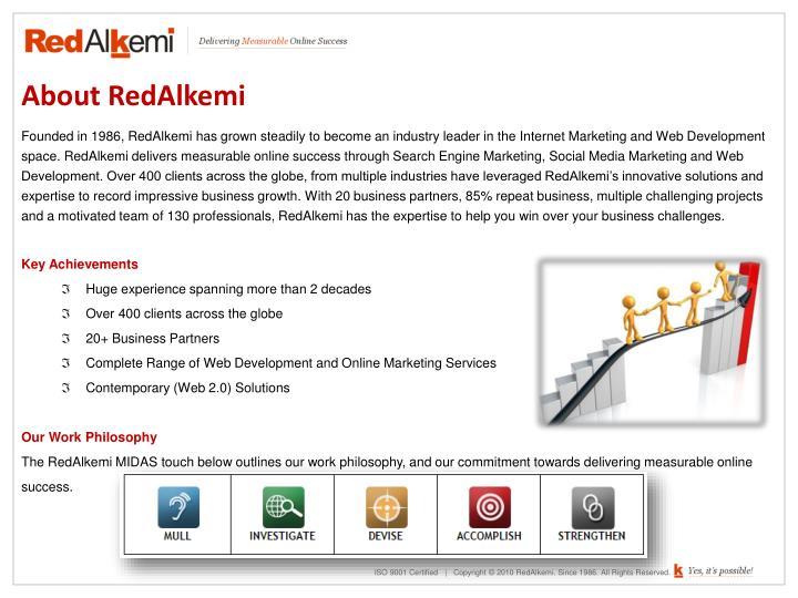 About RedAlkemi