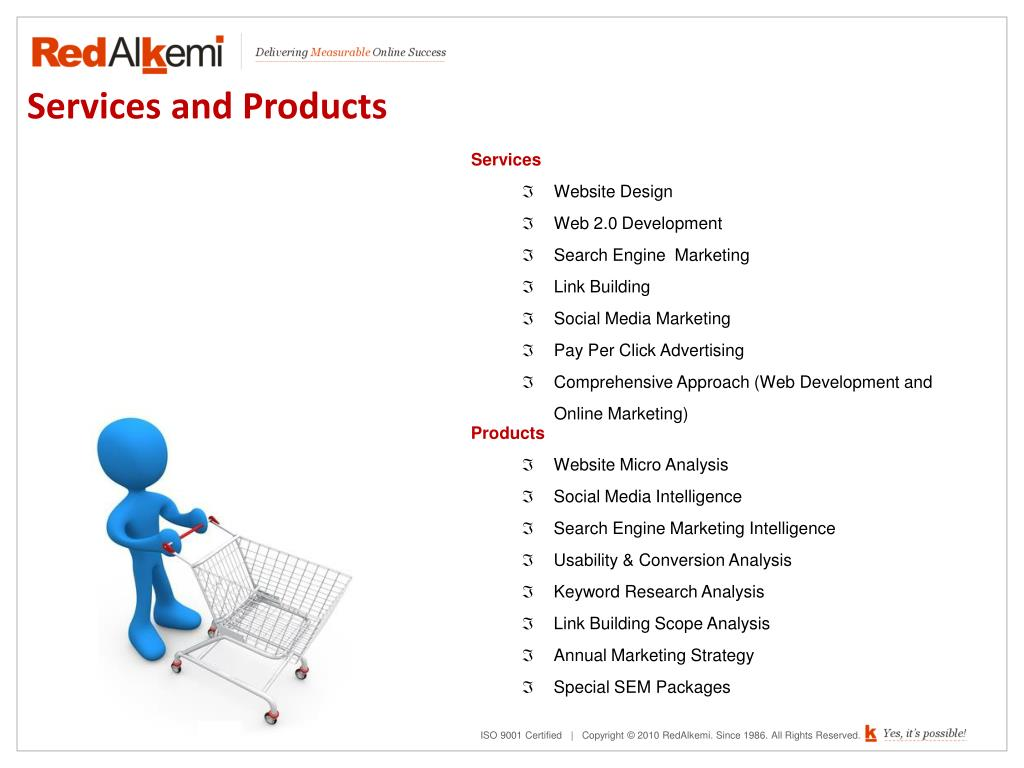 Services and Products