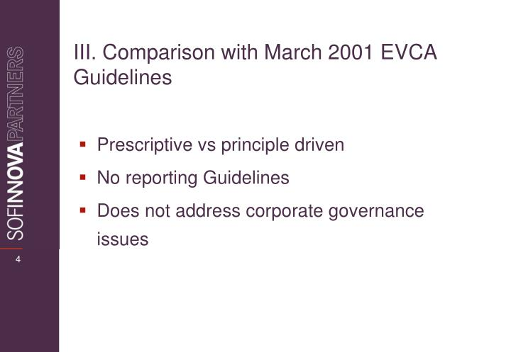 Prescriptive vs principle driven