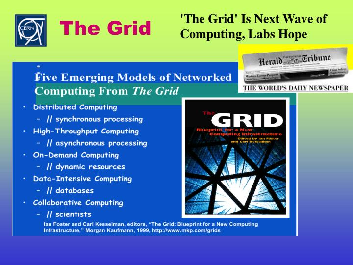 'The Grid' Is Next Wave of Computing, Labs Hope