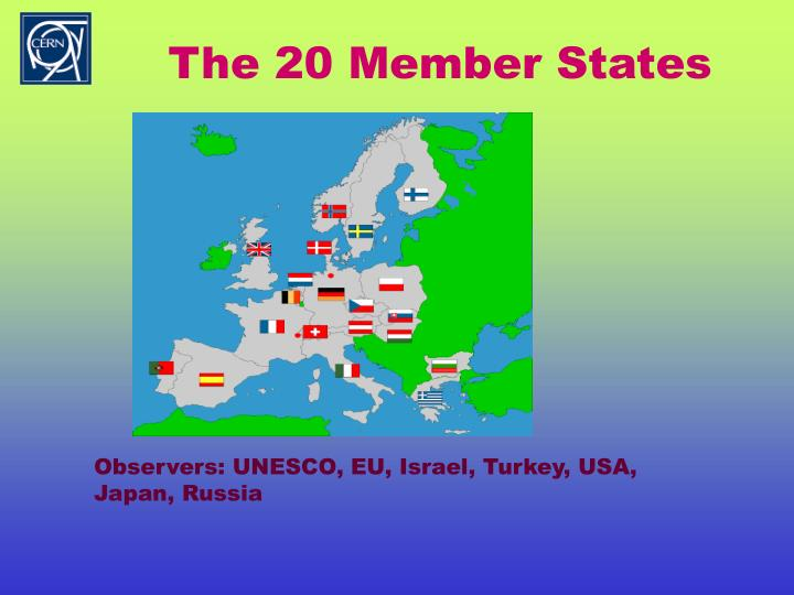 The 20 Member States