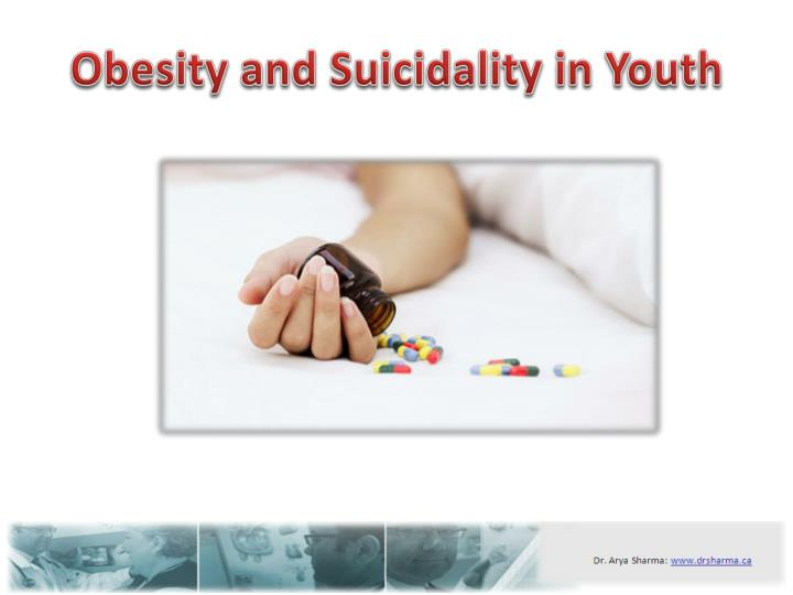 Obesity and suicidality in youth