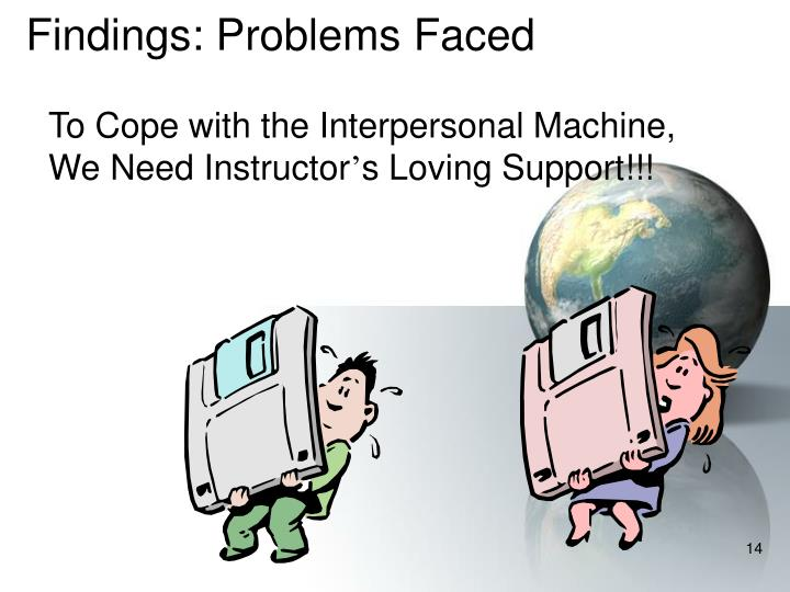 Findings: Problems Faced